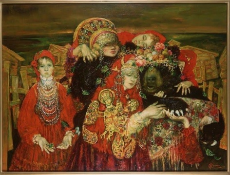 Adoration of the Bear by  Oleg Gurenkov